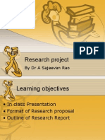 Research Praposal PPT
