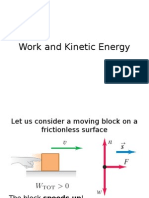 Lecture 16 - Work and Kinetic Energy