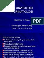 KULIAH NEONATOLOGI-PERINATOLOGI