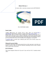 CHT2(Study of various cables)