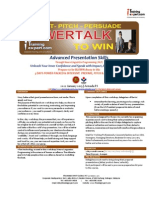 PowerTalk to Win 2 Day Public Program Course Brochure by ITrainingExpert.com