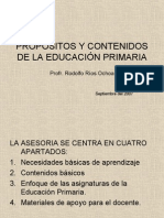 propositos de primariA