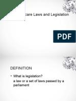 Healthcare Legislation