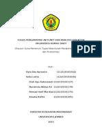 Analisis Struktur Organisasi Dan Pengamatan Unit