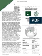 Pakistan - Wikipedia, The Free Encyclopedia