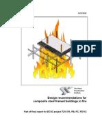 SCI_RT943_ECSC_Design Recommendations for Composite Steel Fr