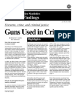 9231315 Guns Used in Crime