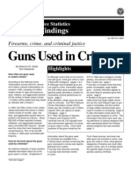 9231315 Guns Used in Crime