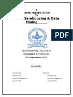Paper on Datamining