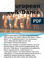 European Folk Dance