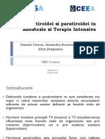 Daniela Cernea Disfunctia Tiroidei Si Paratiroidei