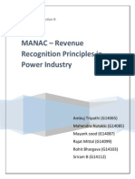 MANAC - Revenue Recoginition Power Industry