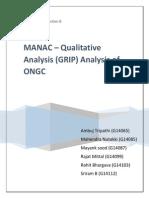 MANAC - GRIP Analysis ONGC
