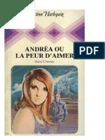 Andrea Ou La Peur d'Aimer - Sara Craven