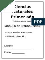Modulo Intro a Método Cientifico (Cs. Naturales)