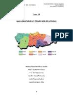 Mapa Sanitario del Principado de Asturias
