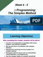 MK 04-05 Linear Programming The Simplex Method.ppt