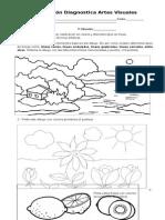 Evaluación  Diagnóstica  Artes Visuales