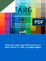 Färgpsykologi - Insikt