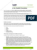 Ottawa Charter for Health Promotion 2