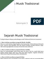 Sejarah Musik Tradisional (Baini)