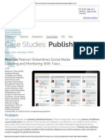 Pearson Streamlines Social Media Listening and Monitoring With Tracx - CACHED PAGE
