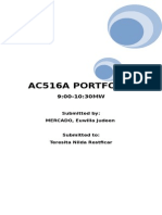 Ac516a Portfolio