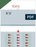 Suku kata KV