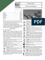Enerpac E-Series Manual