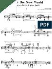 Dvorak, Symphony - 9 - From the New World - Guitar Transcription - Yamashita, Kazuhito