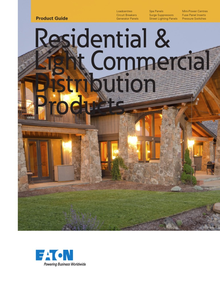 Residential & Light Commercial Distribution Products pdf