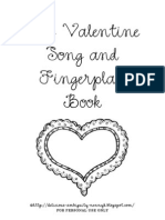 My Valentine Song and Fingerplay Book