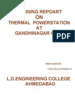 Training Repoart GEB Gandhinagar Gujarat