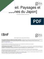 Recueil. Paysages Et Scènes Du Japon
