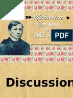 Makamisa:Third Novel of Jose Rizal