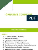 Presentación Creative Commons - Antonio Martínez Giménez