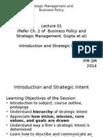 Lec 01 Ch. 2 Strategic Intent JD