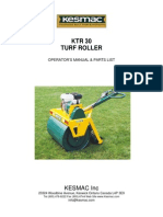 KesmacTR30 Operators & Parts Manual