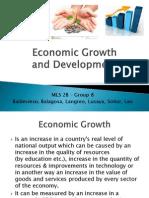 MLS 2B - Economic Growth and Development