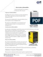How to Select Dehumidifier Vacker UAE
