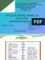 TIC III Aplicaciones Para La Gestion Administrativas