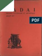 Dada-No.1_July-1917