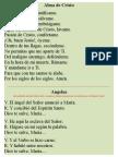 Alma de Cristo - Angelus - Regina Coeli