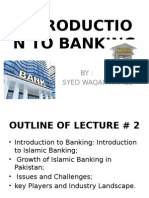 Lecture 2 (Banking)