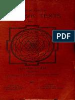 Tantrabhidhana Kosha Tantrik Texts Vol I - Arthur Avalon_Part1