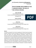 IIMPROVING THE SOCIO ECONOMIC DEVELOPMENT OF THE PEOPLE OF JASIKAN IN GHANA