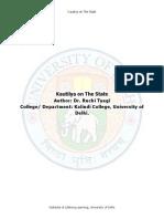 Kautilya on the State