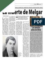La muerte de Melgar
