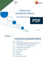 Cret@ Sistema de Liquidacion Directa Procedimiento General