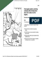 AUDI A4 B5 - Quattro Fuel System Servicing 1.8T & 2.8